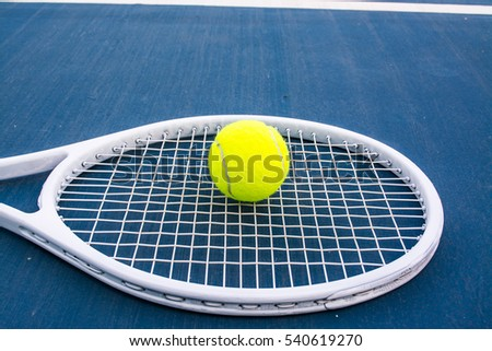 Tennis is a racket sport that is strung with cord to strike a rubber ball. Tennis is an Olympic sport and is played at all levels of society. The modern game of tennis originated in England,