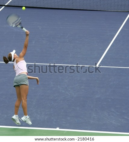 Tennis Serve Female