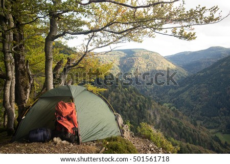 tent, Black Forest, Germany