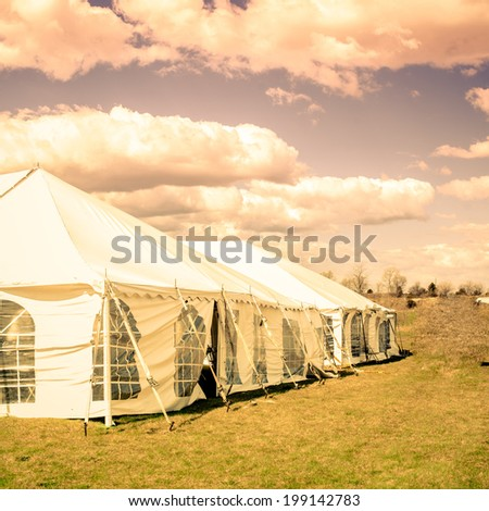 Tent for party and wedding