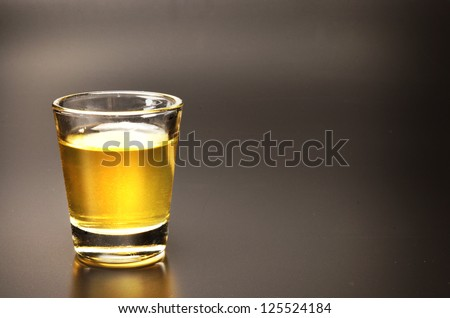 tequila shot - stock photo