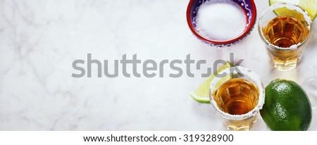 Tequila Shots - stock photo