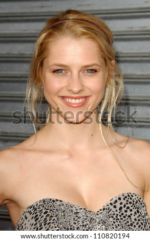 """Teresa Palmer at the Los Angeles premiere """"Balls Of Fury"""". The Egyptian Theatre, Hollywood, CA. 08-25-07 - stock photo"""