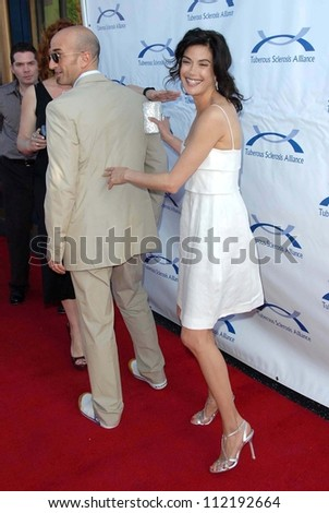 Teri Hatcher and Stephen Kay at the 6th Annual Comedy For A Cure Benefit hosted by the Tuberous Sclerosis Alliance. The Music Box Theatre, Hollywood, CA. 04-01-07 - stock photo