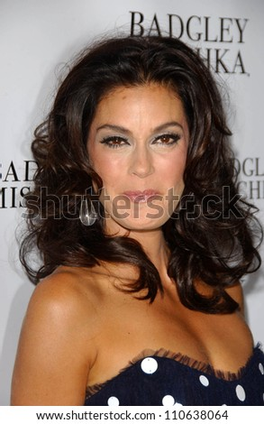 Teri Hatcher at a party to celebrate Badgley Mischka's New Campaign Featuring Teri Hatcher. One Sunset Restaurant, West Hollywood, CA. 08-27-07