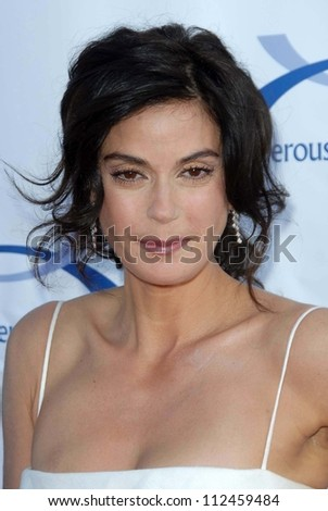 Teri Hatcher at the 6th Annual Comedy For A Cure Benefit hosted by the Tuberous Sclerosis Alliance. The Music Box Theatre, Hollywood, CA. 04-01-07 - stock photo