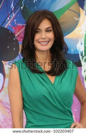 Teri Hatcher at the World Premiere of 'World Of Color,' Disney's California Adventure, Amaheim, CA. 06-10-10