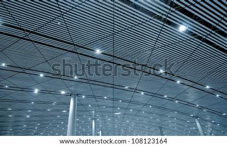 Terminal Diagonals - stock photo