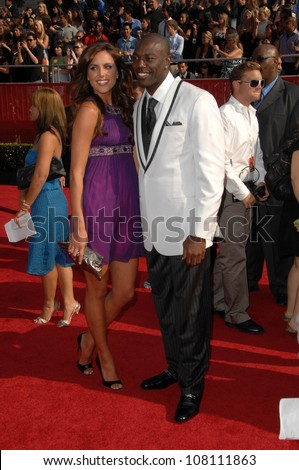 Terrell Owens  at the 2008 ESPY Awards. Nokia Theatre, Los Angeles, CA. 07-16-08
