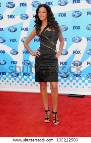 Terri Seymour  at the 'American Idol' Grand Finale 2009. Nokia Theatre, Los Angeles, CA. 05-20-09