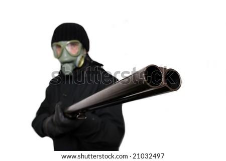 terrorist - stock photo