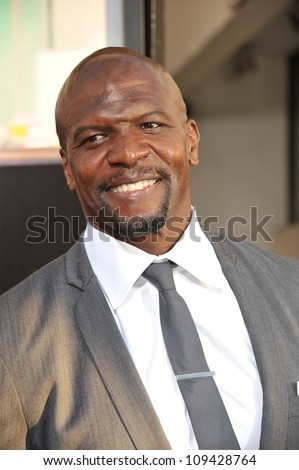 """Terry Crews at the Los Angeles premiere for HBO's new series """"The Newsroom"""" at the Cinerama Dome, Hollywood. June 21, 2012  Los Angeles, CA Picture: Paul Smith / Featureflash - stock photo"""