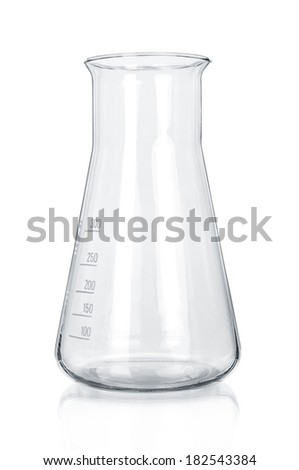 Test-tube collection  isolated - stock photo