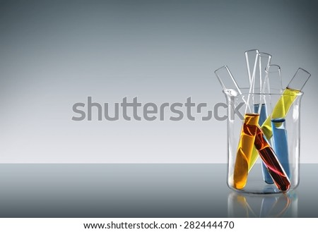Test Tube, Scientific Experiment, Beaker.