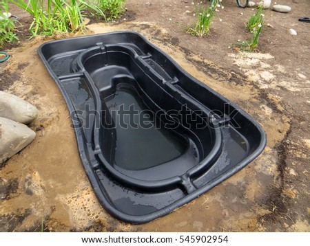 Stock images royalty free images vectors shutterstock for Garden pond insert