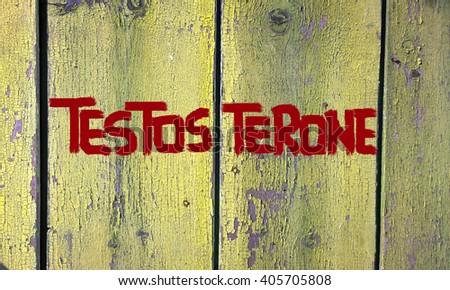 Testosterone Concept - stock photo