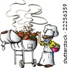 Texas Barbeque - stock photo