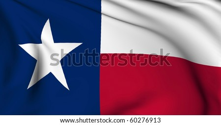 Texas flag - USA state flags collection