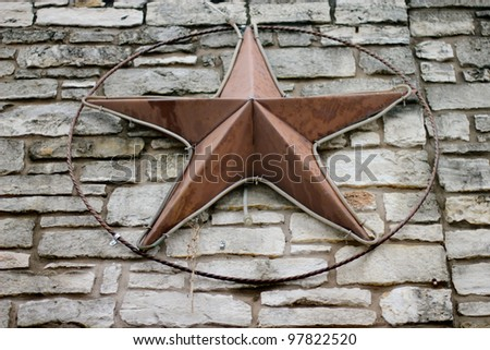 Texas Star - stock photo