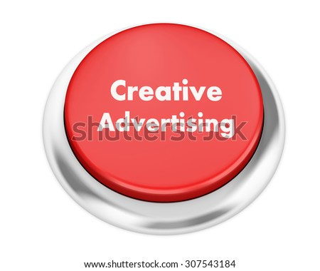 Text career button 3d render