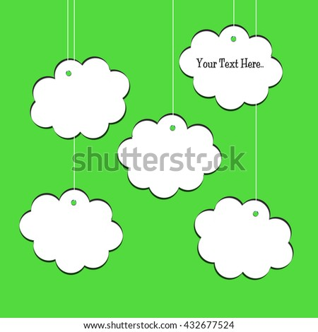 Text Clouds - stock photo