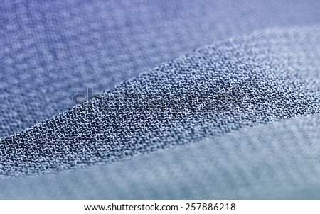 Textile industry and fabric macro background. - stock photo