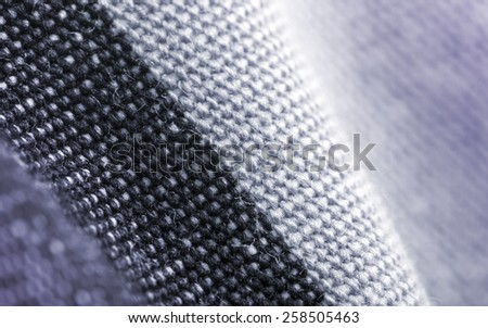 Textile industry background, macro photo.