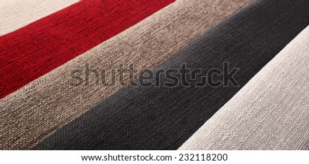 Textile materials catalog samples - stock photo