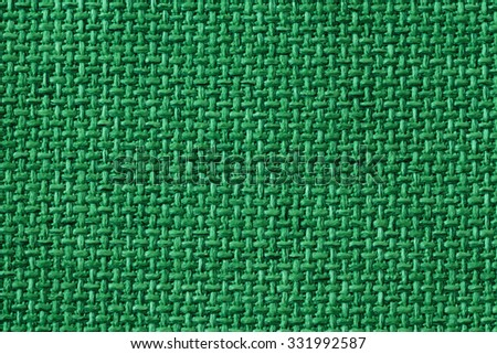Textile network for creative Background green