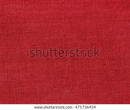 Textile red, Jeans texture