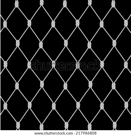 texture a background from a rope network - stock photo