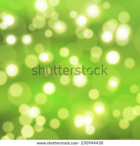 texture, abstract background is green bokeh light is colorful for happy new year day, christmas and other event.