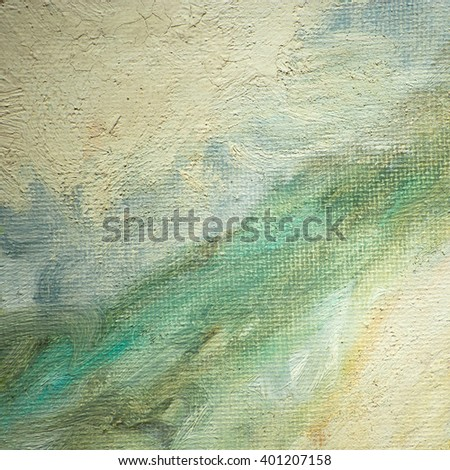 texture abstract painting by oil on canvas for modern interior, illustration, background - stock photo