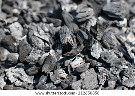texture ash residues burnt wood texture for design - stock photo