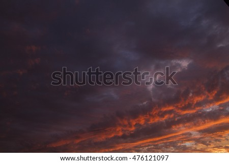 texture background beautiful natural cloudy sky