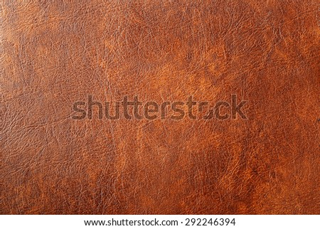 Texture background from closeup shoot of brown leather for your work - stock photo