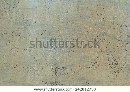 Texture, Background. Metal rusty painted plate - stock photo