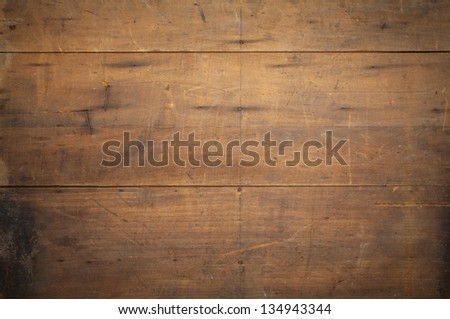 texture background of old grunge wood with scratches and stains - stock photo
