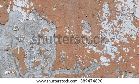 Texture background. Old brick wall. City walls. Abstract street  - stock photo
