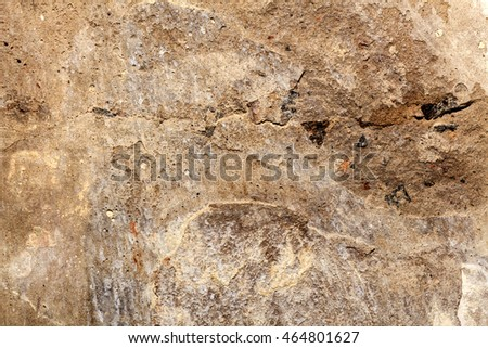 texture, background,old gray wall with scuffs and scratches