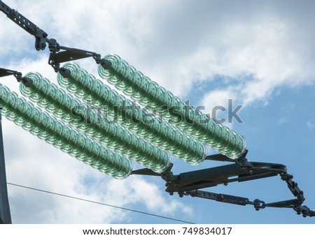 stock photo texture background pattern glass insulators on wires of high preemption 749834017 preemption wiring diagram honda motorcycle repair diagrams  at bakdesigns.co
