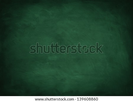texture background with green chalkboard - stock photo