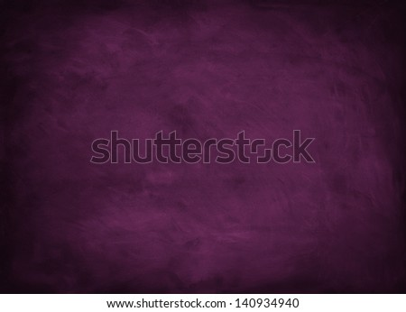 texture background with purple chalkboard - stock photo