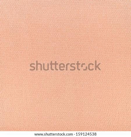 Texture beige artificial silk - stock photo