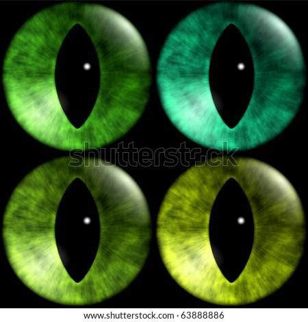 Texture Cat's Eye - stock photo