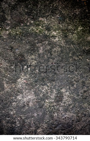 Texture cement on old wall. - stock photo