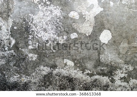 texture concrete wall with water stain