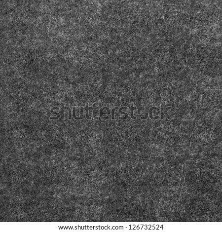 Texture grey soft fabric. Felt is made of soft wool