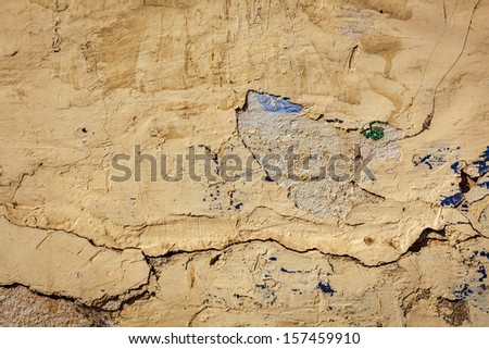 Texture grunge background of painted plaster wall