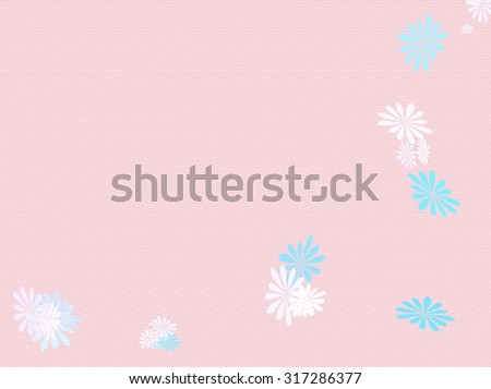 Texture image of pink flowers for your design or background.
